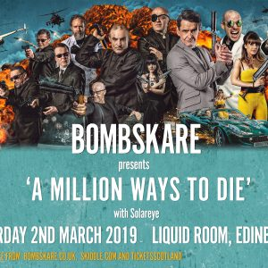 Bombskare ALBUM LAUNCH POSTER